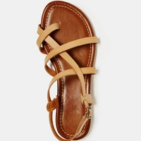 AEO Criss-Cross Sandal | American Eagle Outfitters
