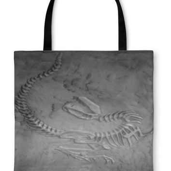Tote Bag, Dinosaur Fossil