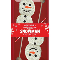 Snowman Marshmallow Lollipop Gift Set