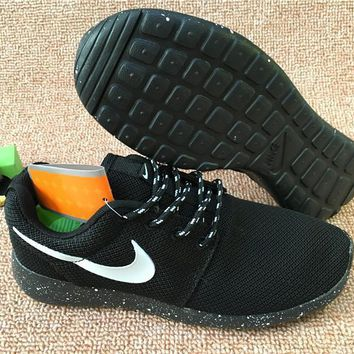 Nike Roshe Run Sport Casual Shoes Sneakers Black Size 36-44-1