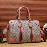 Gucci Women Fashion Leather Shoulder Bag Crossbody Tote Handbag