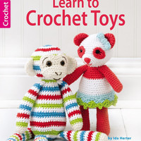 Crochet Amigurumi Pattern Book - Learn to Crochet Toys - Leisure Arts - Signed Book