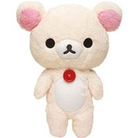 Rilakkuma white teddy bear plush toy size M by San-X - Plush Toys - Stationery