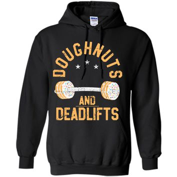 Funny Donut Workout T-Shirt Doughnuts And Deadlifts