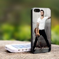 Adam Levine Maroon five Rock Band - For iPhone 4,4S Black Case Cover