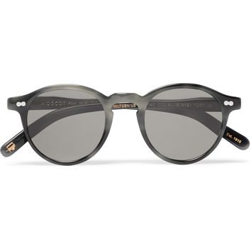 Moscot - Round-Frame Acetate Sunglasses