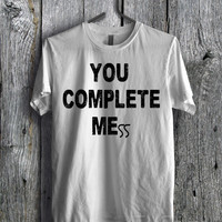 Luke Hemmings 5SOS You Complete Mess Tee  - D1zL Unisex Tees For Man And Woman / T-Shirts / Custom T-Shirts / Tee / T-Shirt