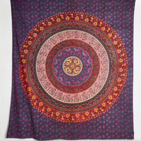 Vintage Inspired Boho Bungalow Tapestry by Karma Living from ModCloth