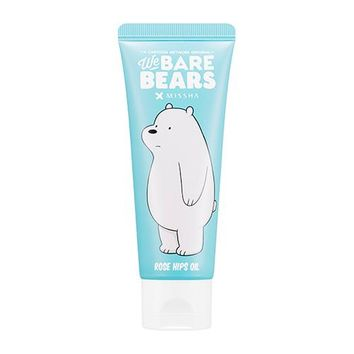 [MISSHA] Real Moist 24 Hand Cream [Rose Hip Oil] (We Bare Bears)