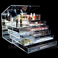 ICEbOX WIDE - Luxury Acrylic Makeup Organizer by Sherrieblossom