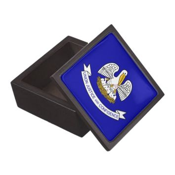 Louisiana State Flag Premium Gift Box