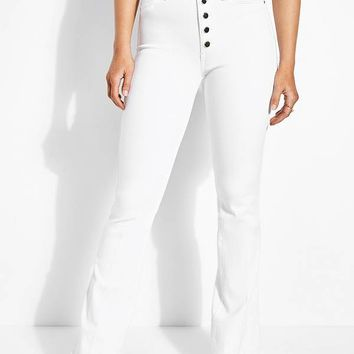 1981 High-Rise Flare Jeans at Guess