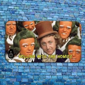 Funny Willy Wonka Quote Case Cute Rubber Phone Cover iPhone 4 4s 5 5s 5c 6 iPod