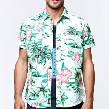 Maui & Sons Aloha Nation Woven Shirt - Mens Shirts - Floral
