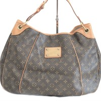 Authentic Louis Vuitton Galliera GM monogram Shoulder Bag