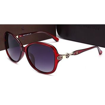 LV Louis Vuitton fashion trendy women's sunglasses F-HWYMSH-YJ #2