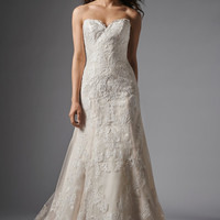 Wtoo by Watters Christy 15130 Strapless Lace Wedding Dress