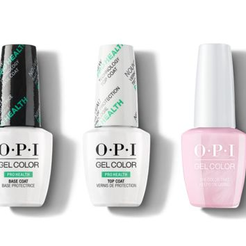 OPI - GelColor Combo - Base, Top & The Color That Keeps On Giving