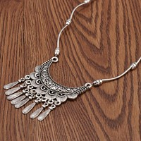 Gypsy Statement Link Necklace