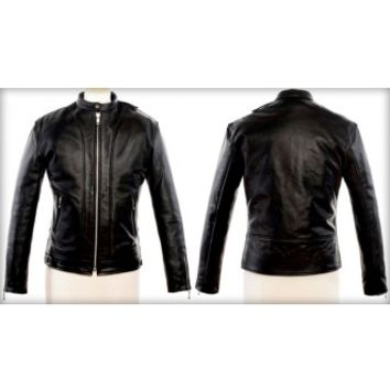 Straight To Hell Offender Leather Jacket - Jackets - Men's Online Store