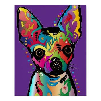 Chihuahua Art Print from Zazzle.com