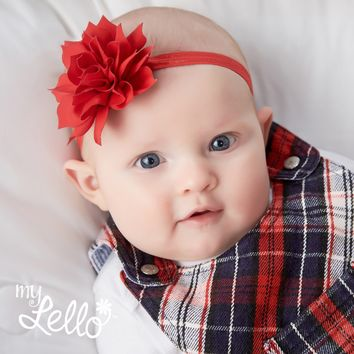 Baby Medium Petal Flower Headband