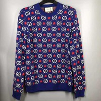 Blue GUCCI Sweater Unisex