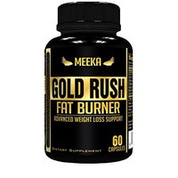 Meeka Nutrition Gold Rush Thermogenic Fat Burner Weight Loss Supplement 60 Capsules - Weight Loss - Natural...