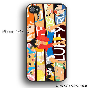 one piece crew case for iPhone 4[S]
