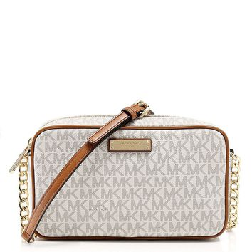 MICHAEL Michael Kors Jet Set Medium Logo Crossbody