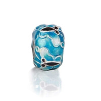 Bling Jewelry Blue Flutter Charm