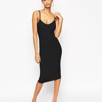 ASOS Midi Cami Bodycon Dress