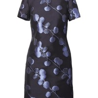 Floral Jacquard Shift Dress | Banana Republic
