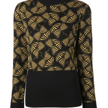 Duro Olowu umbrella bow print sweater