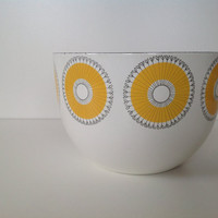 Kaj Franck Large Enamel Sunflower Bowl - Arabia Finland