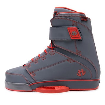 Humanoid Odyssey Wakeboard Boots Grey/Red 11-12