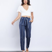 Open Ocean Striped Pants
