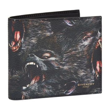 Screaming Monkey Bi-Fold Wallet by Givenchy