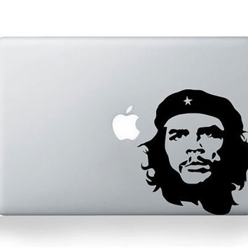 30&% OFF! - Che Guevara Macbook decal  Mac decal  Apple mac decal macbook pro laptop macbook stickers for pro/air/ipad MacBook ipad decal