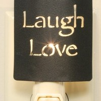 Live, Laugh, Love Night Light ~ Silhouette Nightlight