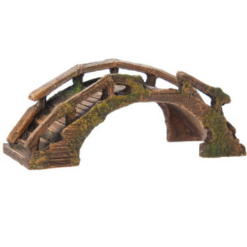 Top Fin® Asian Wooden Bridge Aquarium Ornament