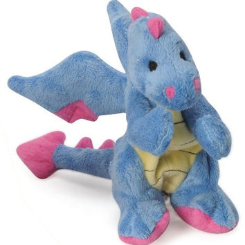 goDog Baby Dragon Plush Dog Toy Size: Small Periwinkle