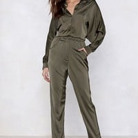 An Overall Success Utility Jumpsuit
