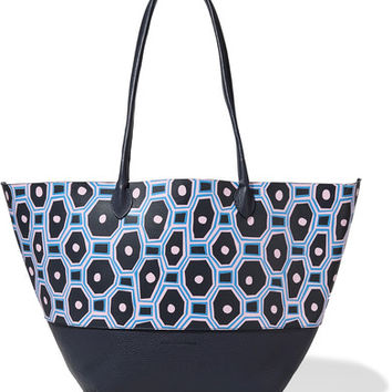 Sophie Anderson - Brenna painted textured-leather tote