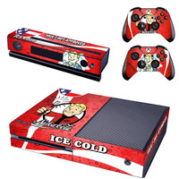 Fallout vault boy console xbox one skin sticker