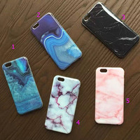 Marble mobile phone case for iphone 5 5s SE 6 6s 6plus 6s plus -0321