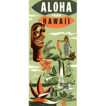 Personalized Aloha Wood Sign