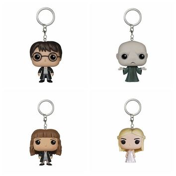 Harry Potter  Spider man Hulk Batman  Jack Thor Game of Thrones Daenerys  Action Figure Toy  With Keychain