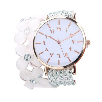 new Round stylish shape Beautiful Bracelet Watch