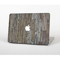 "The Straight Aged Wood Planks Skin Set for the Apple MacBook Pro 13"" with Retina Display"